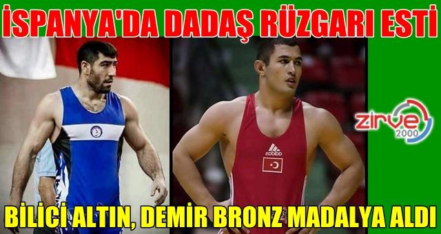 Akdeniz Oyunları'nda altın madalya aldı