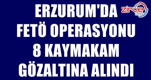 Erzurum'da sorgulamaları başladı