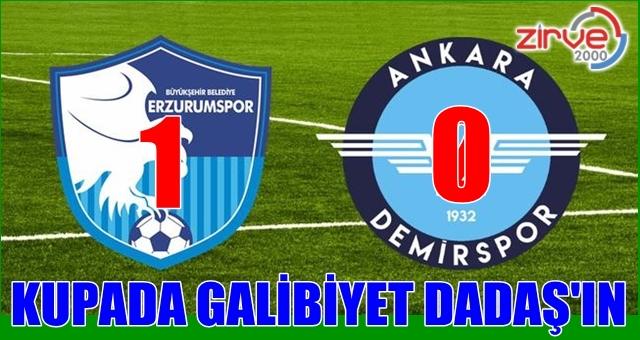 BB Erzurumspor:1 Ankara Demirspor:0