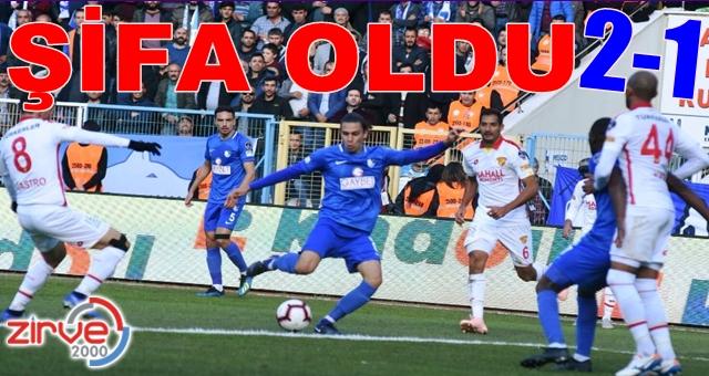 BB Erzurumspor:2 Göztepe:1