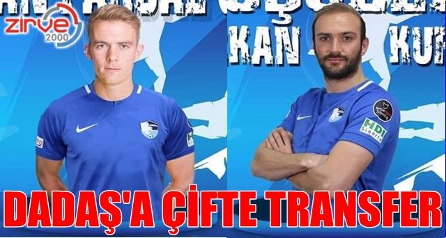 BB Erzurumspor'a çifte transfer