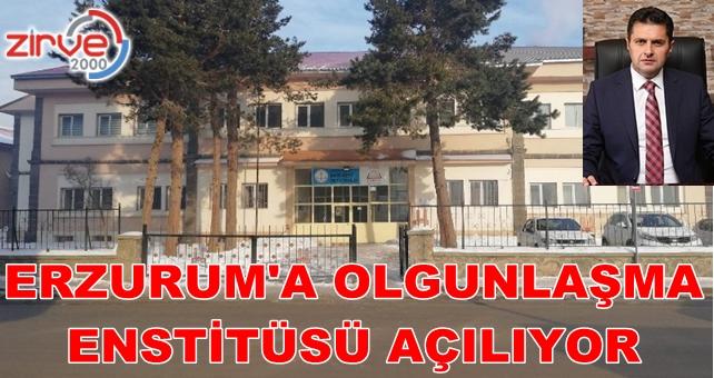 Erzurum'a Olgunlaşma Enstitüsü açılıyor