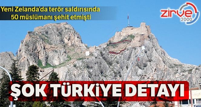 Türkiye ziyaretinde detay