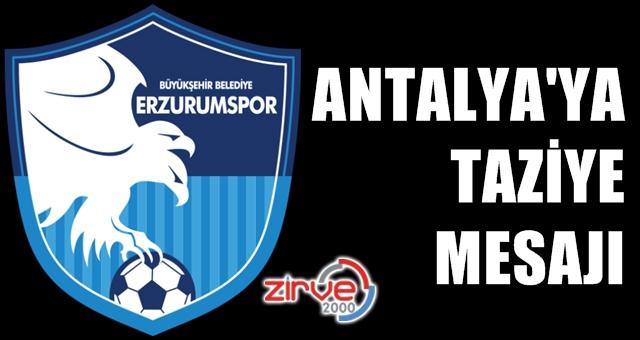 BB Erzurumspor taziye mesajı yayınladı