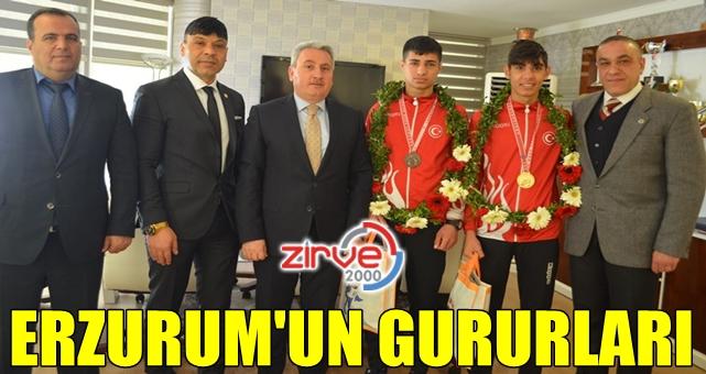 Ringin şampiyonları GSİM'deydi