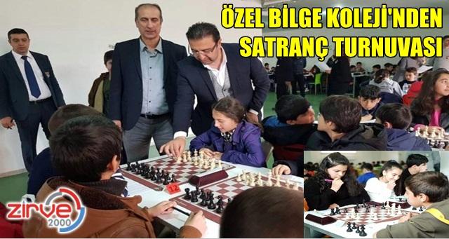 Özel Bilge Koleji'nden satranç turnuvası