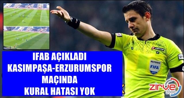 IFAB'dan açıklama
