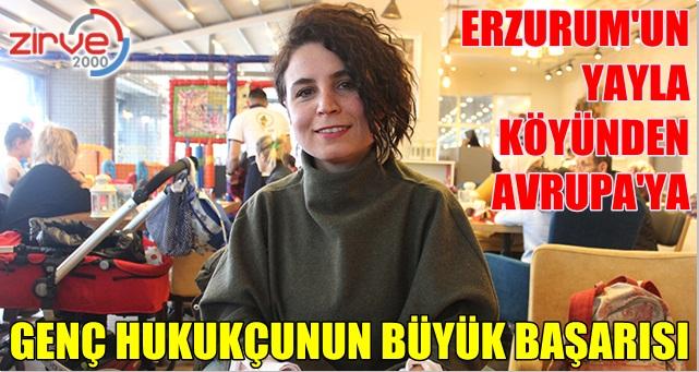 Dr.Zeynep Erhan'ın büyük başarısı