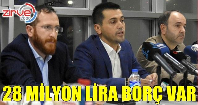 Dadaş'ın 28 milyon lira borcu var
