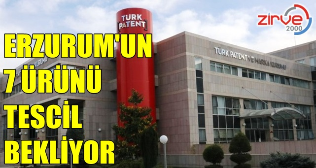 Erzurum'un 9 ürünü coğrafi işaret aldı