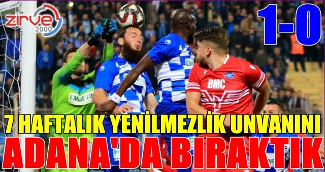 Adana Demirspor:1 BB Erzurumspor:0