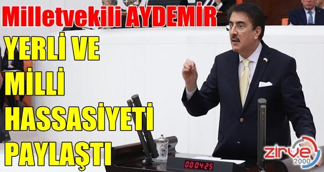 Aydemir: 'Cumhurbaşkanımızın ufku Kızılelmamızdır'