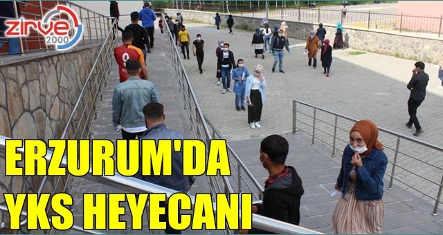 Erzurum'da YKS heyecanı