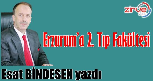 Erzurum'a 2. Tıp Fakültesi…