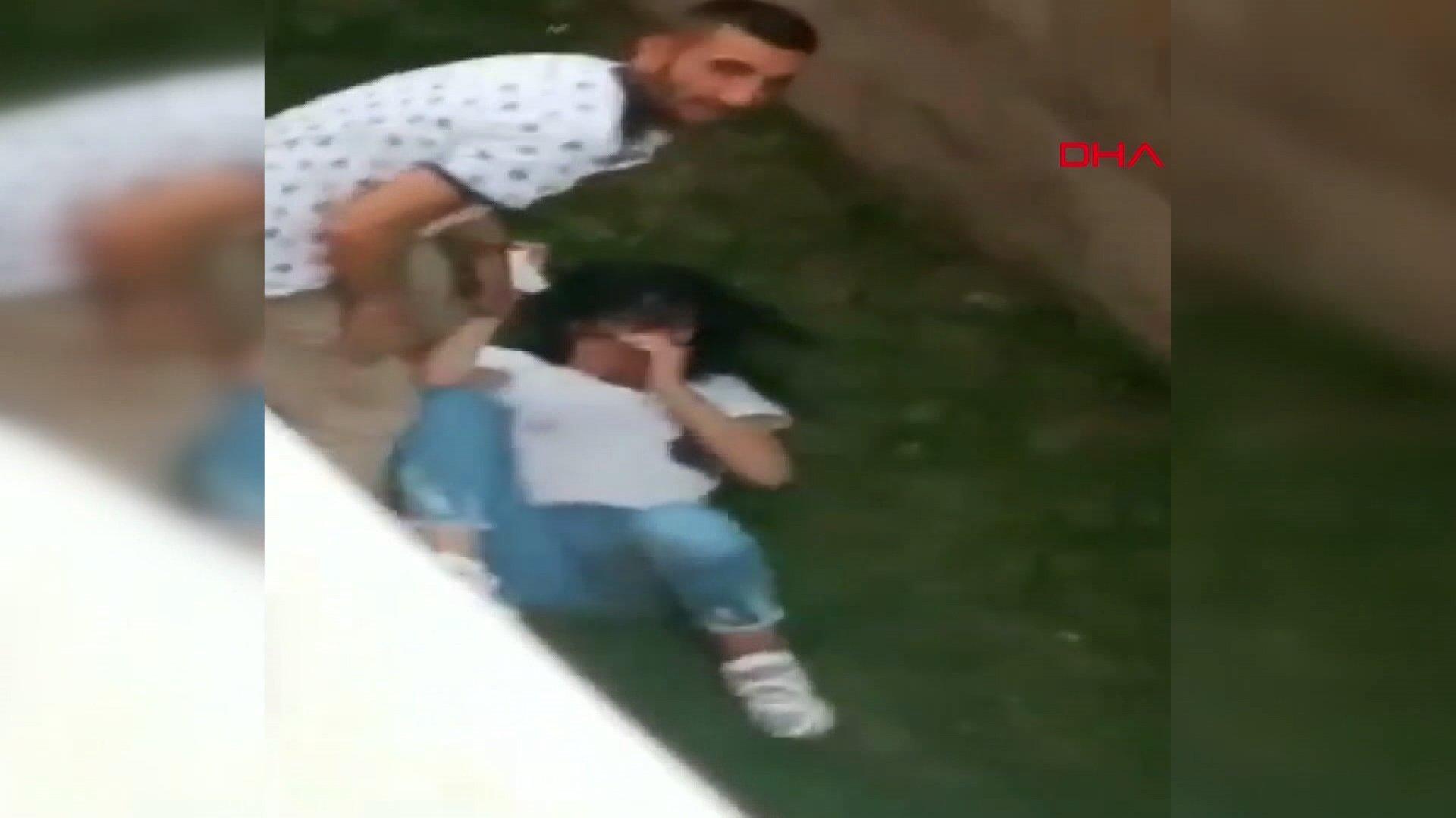 Erzurum'da şiddet görüntüleri