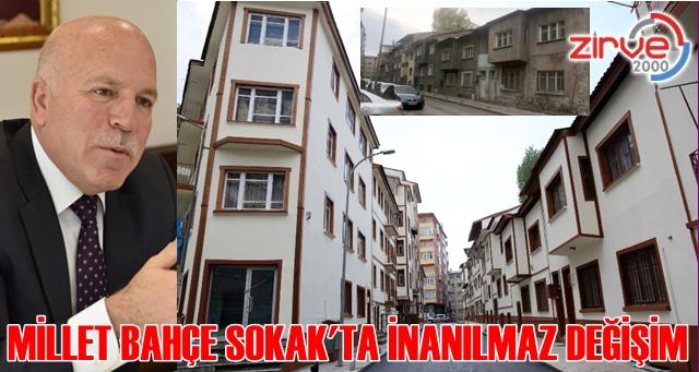 Sosyal Hizmet Merkezinin çevre düzenlemesi Büyükşehir Belediyesi yaptı