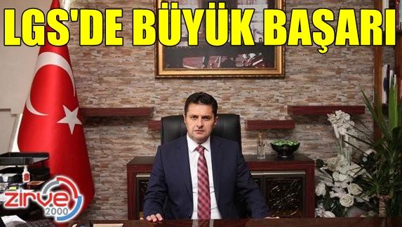 Erzurum LGS'de başarı