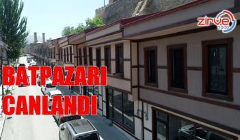 ERZURUM'UN TARİHİ BATPAZARI DA CANLANDI