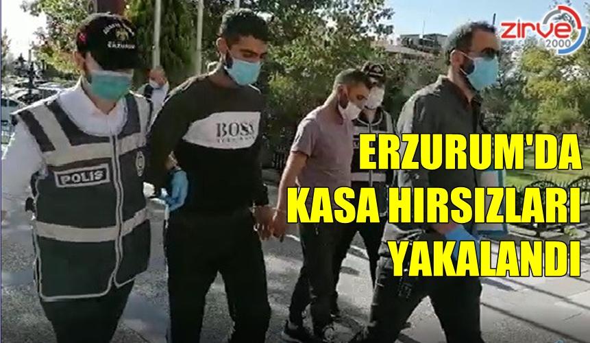 ERZURUM'DA HIRSIZLIK