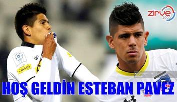 ESTEBAN PAVEZ ERZURUMSPOR'DA