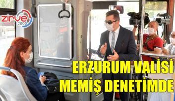 ERZURUM'DA KORONAVİRÜS DENETİMİ