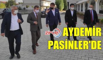 AK PARTİ MİLLETVEKİLİ AYDEMİR PASİNLER'DE