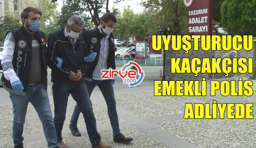 EMEKLİ POLİS HAKİM KARŞISINDA