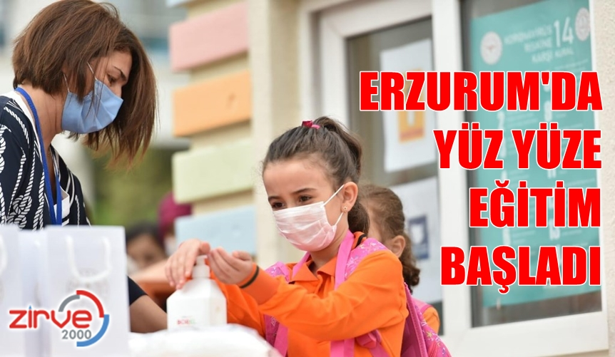ERZURUM'DA DERS ZİLİ ÇALDI