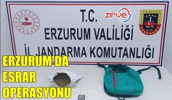 ERZURUM'DA 377 GRAM ESRAR ELE GEÇİRİLDİ