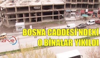 BOSNA CADDESİ'NİN ÇEHRESİ DEĞİŞİYOR