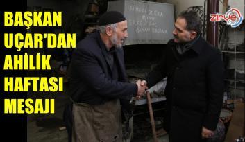 Uçar: Ahilik Anadolu'daki Türk kültürünün sembolüdür