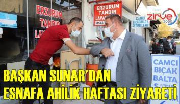 SUNAR ESNAFIN AHİLİK HAFTASI'NI KUTLADI