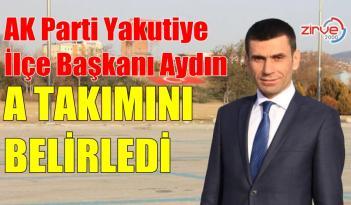 İŞTE AYDIN'IN YENİ EKİBİ