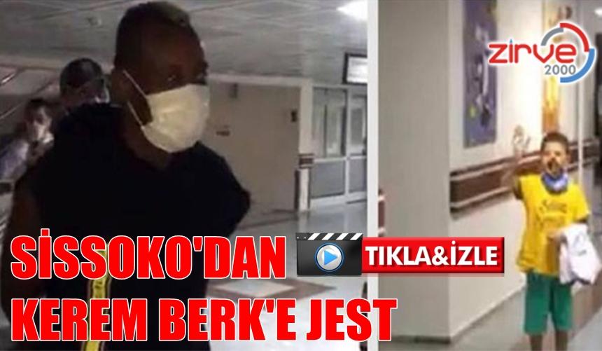 KEREM BERK'İ ZİYARET ETTİ