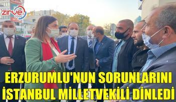 ARZU ERDEM ESNAFIN SORUNLARINI DİNLEDİ