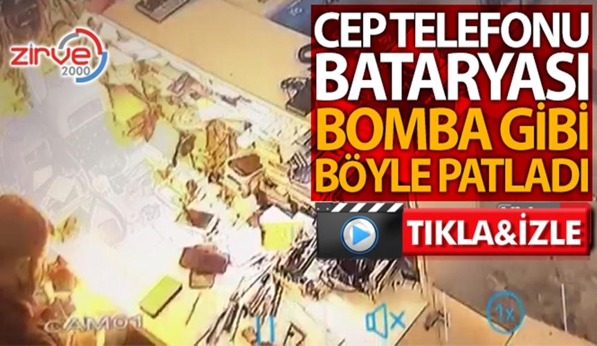 BATARYALAR BOMBA GİBİ