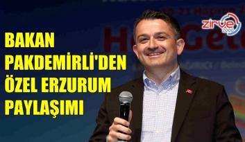 PAKDEMİRLİ'NİN ERZURUM HASSASİYETİ