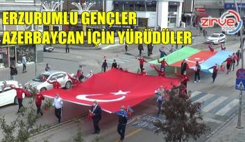AZERBAYCAN'A DESTEK YÜRÜYÜŞÜ