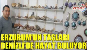 DEĞERLİ TAŞLAR ERZURUM'DAN