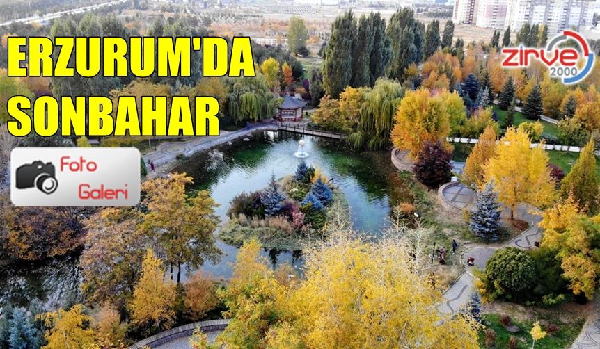 ERZURUM'DAN EŞSİZ SONBAHAR FOTOĞRAFLARI