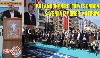 PALANDÖKEN'DEN İKİ YENİ PRESTİJ CADDESİ