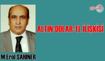 ALTIN-DOLAR-TL İLİŞKİSİ
