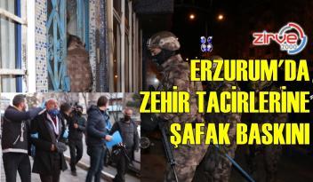 ERZURUM POLİSİNDEN OPERASYON
