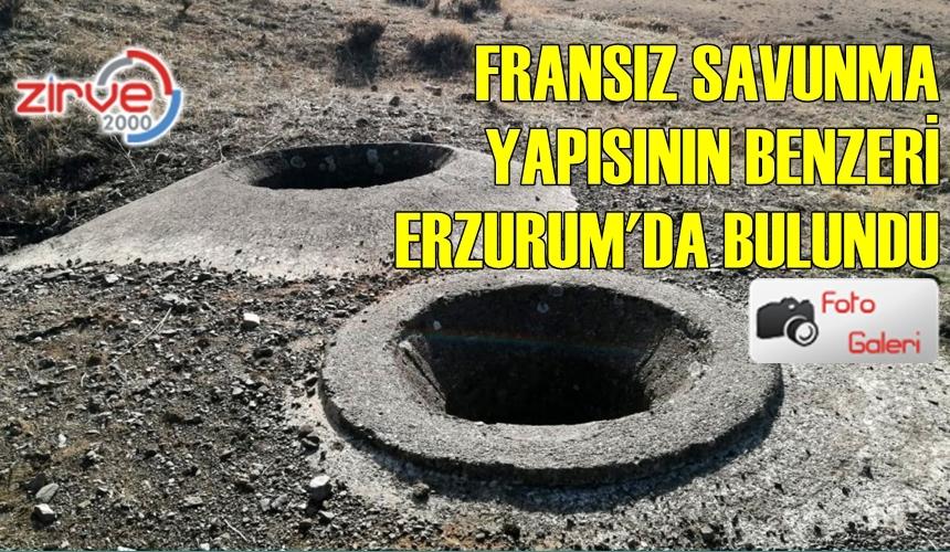 TURRET VE BUNKER SAVUNMA YAPISI ERZURUM'DA