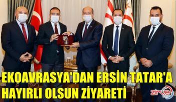 EREN TATAR'I ZİYARET ETTİ