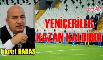 YENİÇERİLER KAZAN KALDIRDI