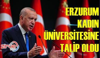 KADIN ÜNİVERSİTESİ ERZURUM'A KURULSUN