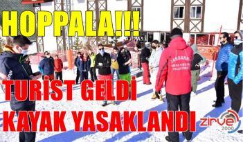 PALANDÖKEN'DE KRİZ!