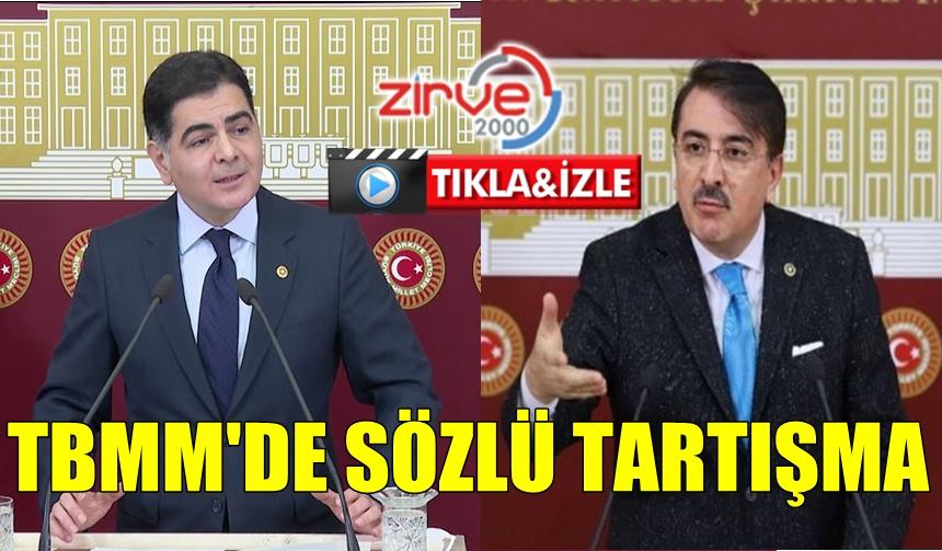 MECLİS'TE SÖZLÜ TARTIŞMA