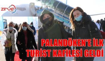 PALANDÖKEN'E GELDİLER
